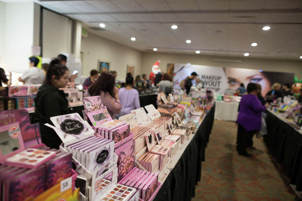 San Antonians attended a Makeup Blowout Sale event on Sunday, December 15, 2019.
