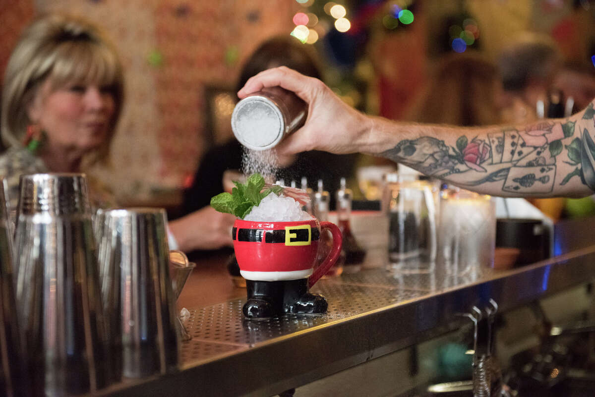 Welcome to Miracle, an over-the-top, pop-up Christmas bar inside of Lower Nob Hill's Pacific Cocktail Haven.