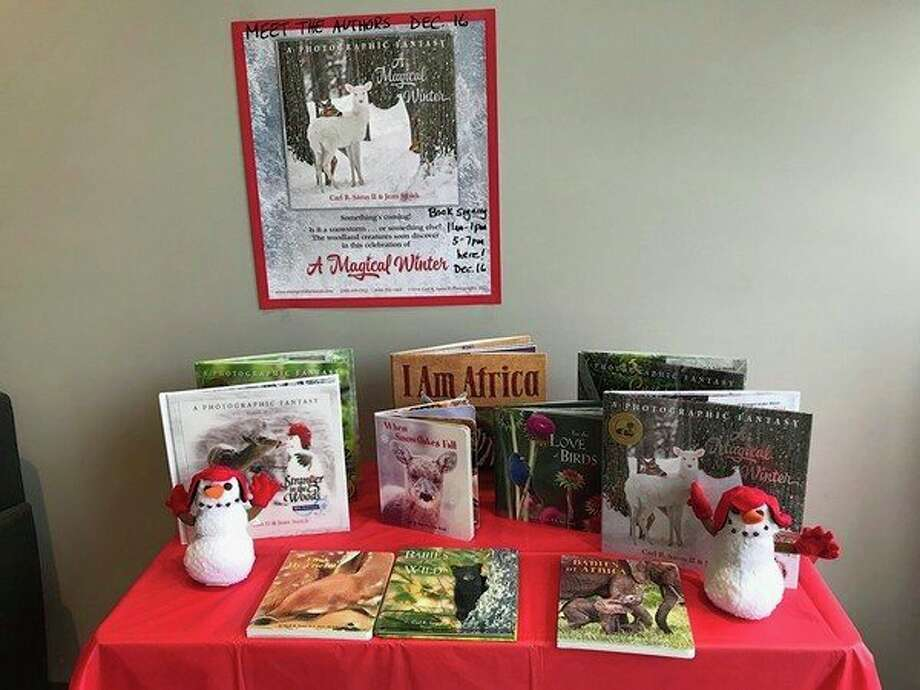 "Monday, Dec. 16: Book signing in Midland with ""Stranger in the Woods"" children's book authors Carl Sams II and Jean Stoick, the Michigan husband-and-wife team of the popular book series, ""In the Woods."" They will sign books from 11 a.m. to 1 p.m. and from 5 to 7 p.m. at the Daily News office, 219 E. Main St. in downtown Midland. Lots of affordable books for gifts. (Daily News file photo)"