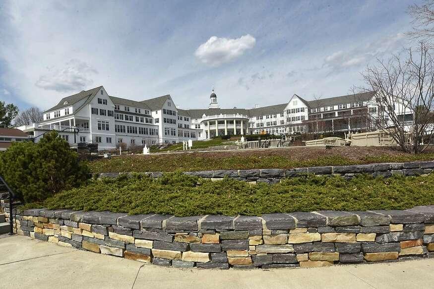 Exterior of the Sagamore Hotel on Lake George Tuesday, April 11, 2017 in Bolton Landing, N.Y. (Lori Van Buren / Times Union)