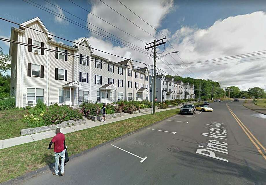 A Hamden security guard was stabbed in a physical altercation with a man who was seen looking into a back window of a condominium unit Friday night. At around 10 a.m., police responded to 190 Pine Rock Avenue on the report of a stabbing. Photo: Google Street View Image