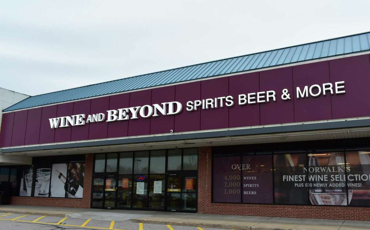 Wine and Beyond in mid-December 2019 at 360 Connecticut Ave. in Norwalk, Conn.