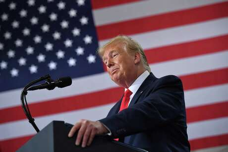 U.S. President Donald Trump speaks on the United States Mexico Canada Agreement (USMCA) trade agreement at Derco Aerospace Inc. plant in Milwaukee, Wis. U.S. and Mexican trade negotiators have reached a deal making changes to labor enforcement under a new continent-wide trade agreement.