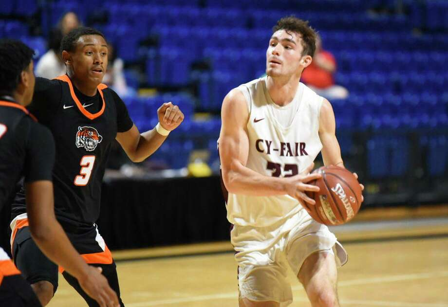 CFISD's 12 schools and a dozen more from Texas met in the 10th annual Cy-Hoops Invitational, Dec. 12-14, at the Berry Center, Bridgeland High School, Cy Park High School and Cy Springs High School. Photo: CFISD