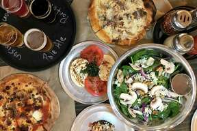 A selection of menu items from Back Unturned Brewing Co.