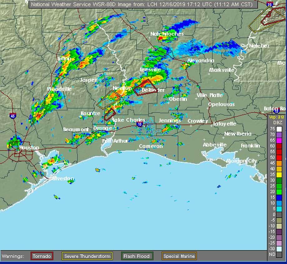 Photo: Doppler Photo Courtesy Of The National Weather Service