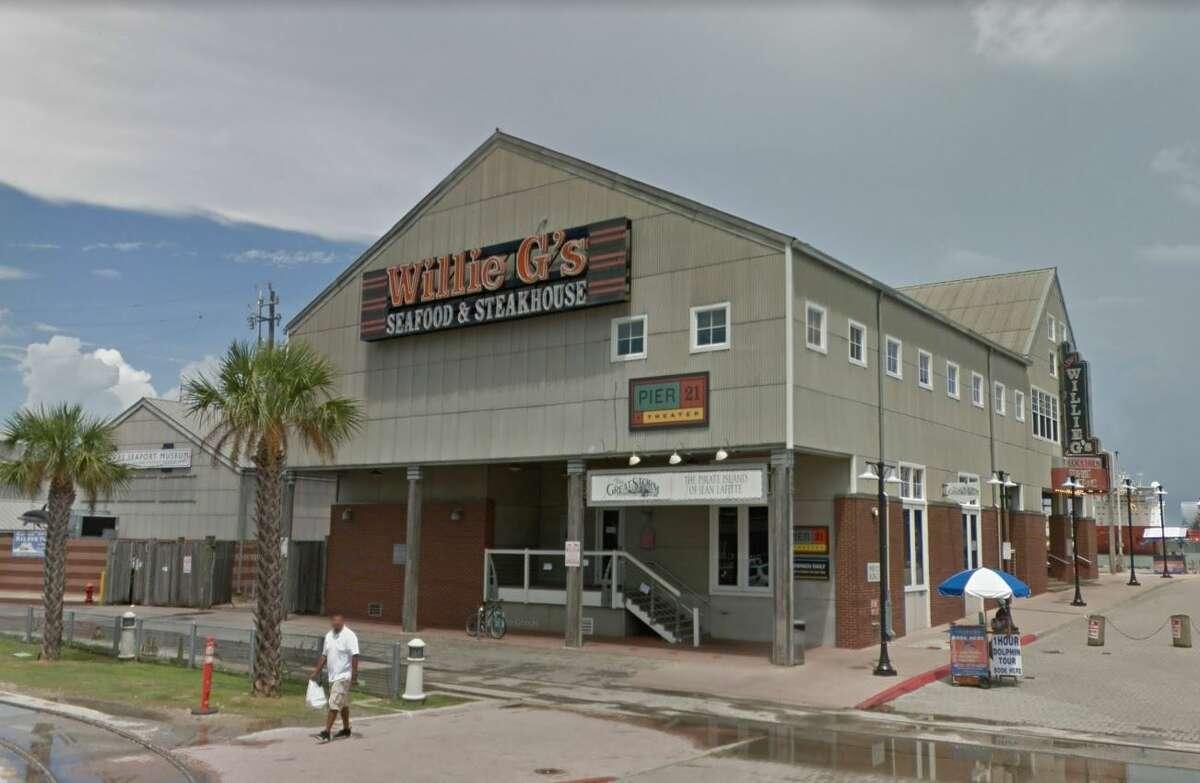 25. Willie G's Seafood & SteakhouseNo 28 Pier 21, GalvestonTotal receipts: $73,712