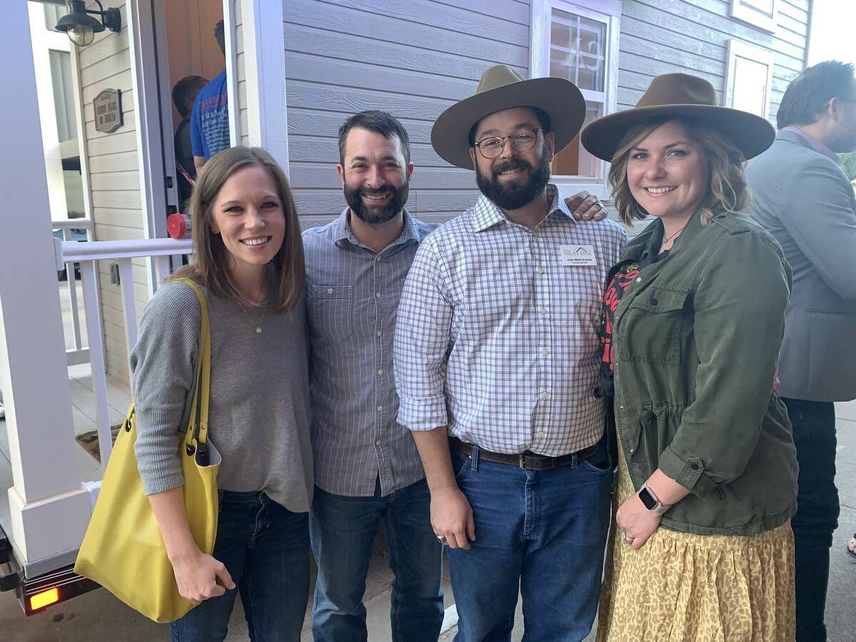 Boomtown: Hannah and Jason Hatch, from left, and John-Mark and Briana Echols