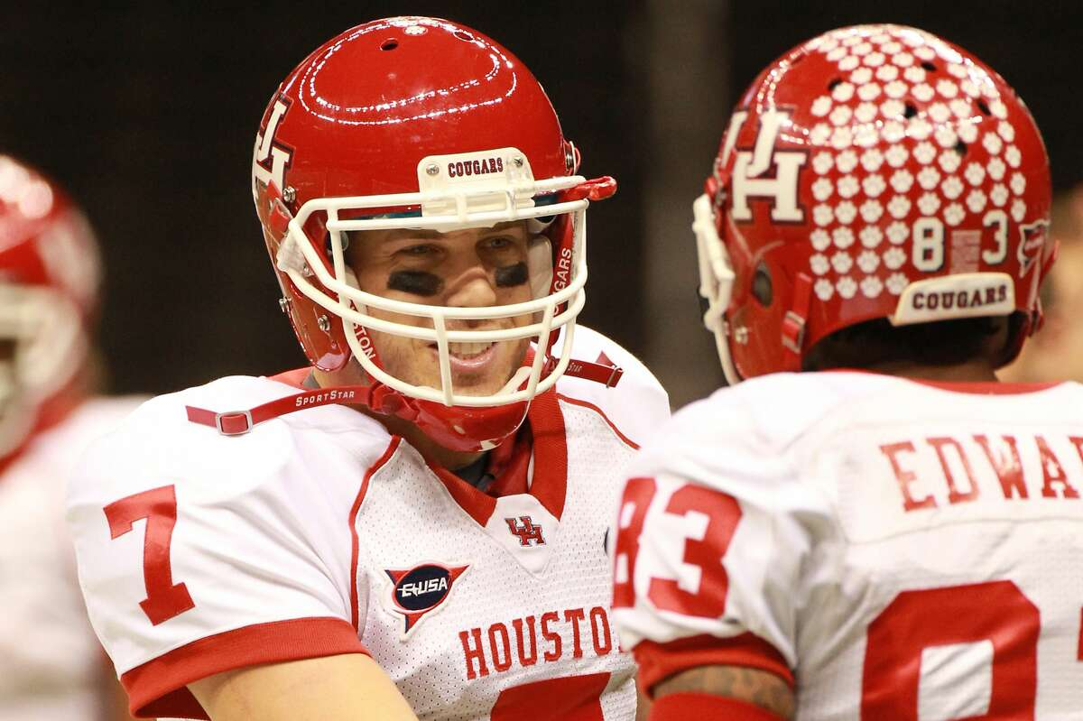 Case Keenum and Patrick Edwards proved to be a potent quarterback/receiver duo during their time together at UH.