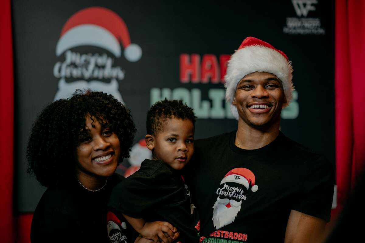 PHOTOS: A look at Russell Westbrook's Christmas party for Houston kids The Houston Rockets' Russell Westbrook threw a holiday party for more than 300 children on Sunday, Dec. 15, 2019 at Emancipation Park. Browse through the photos above for a look inside Russell Westbrook's Christmas party for Houston kids ...