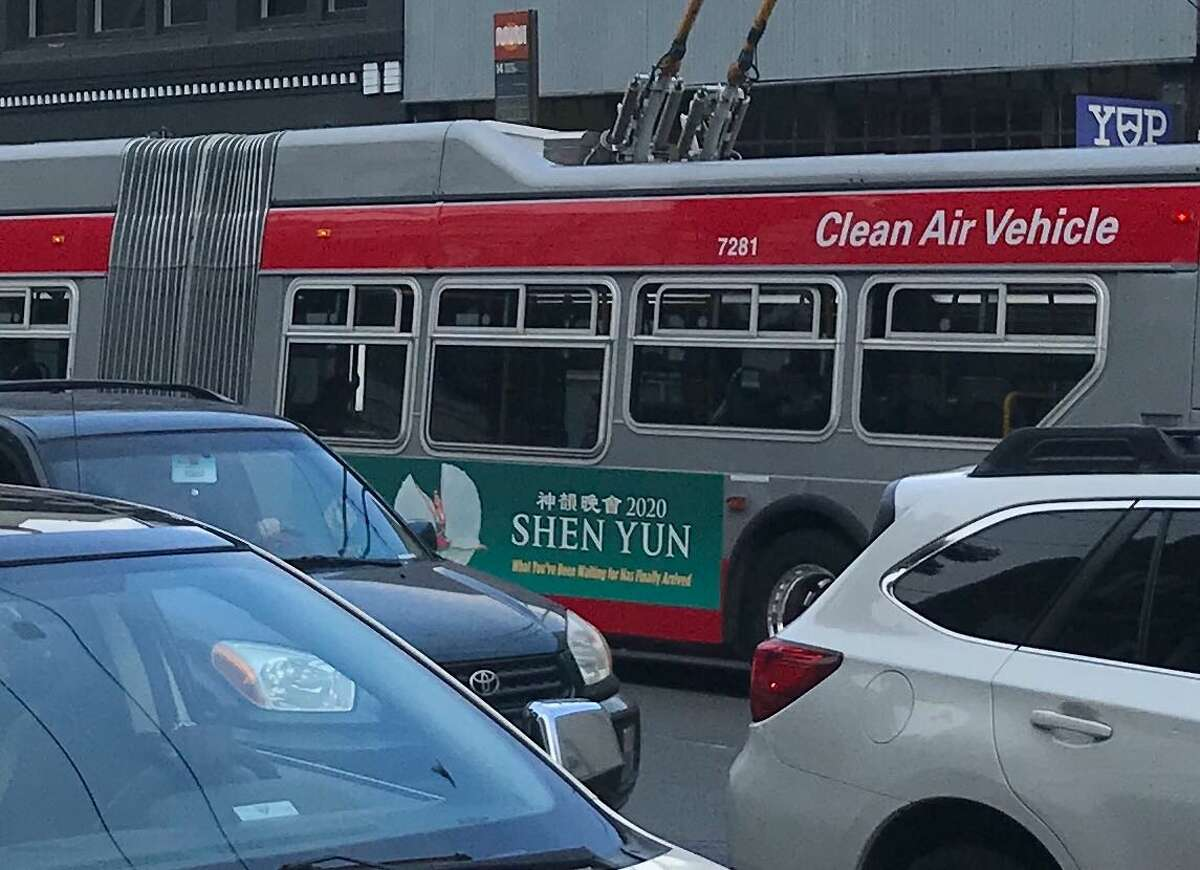 Shen Yun ads are practically everywhere you look in fall and winter in San Francisco.