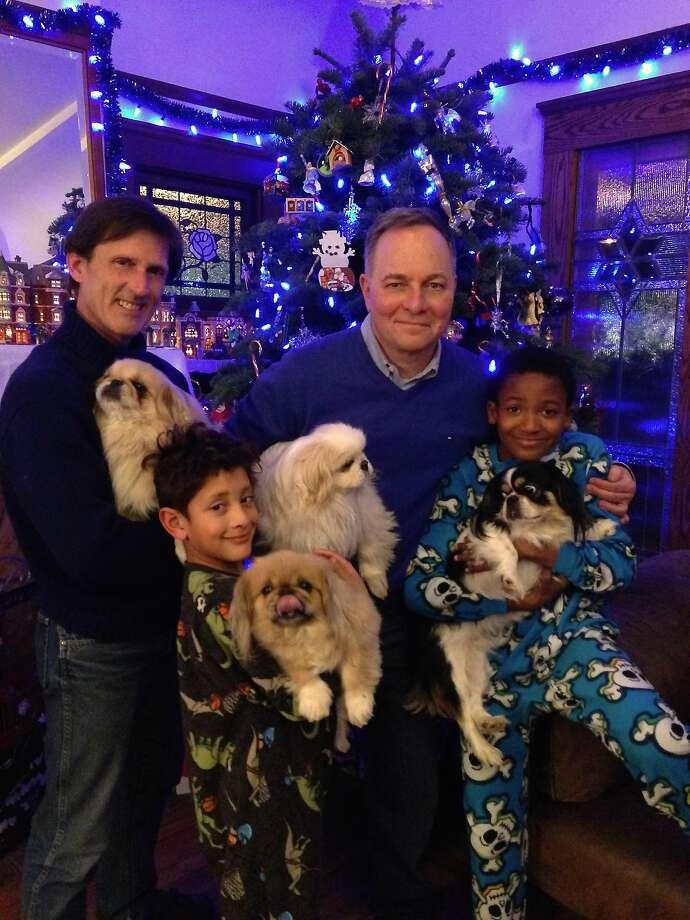 The Fisher-Paulson family Photo: Courtesy Kevin Fisher-Paulson