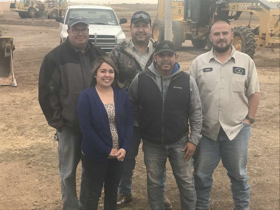 Pictured (L-R): Brocke Lively, Dianne Botello, Serafin Mondragon, Larry Perez and James McGee Photo: City Of Plainview/Courtesy Photos