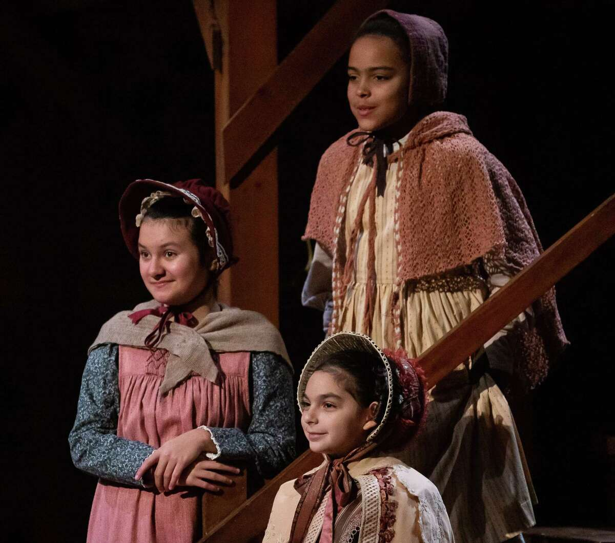 Pasadena resident Ava von Kanel, left, is in her second season performing the Alley Theatre's annual production of