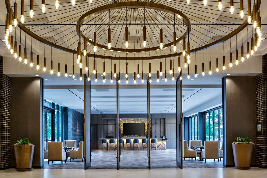 Houston CityPlace Marriott at Springwoods Village was recently awarded AAA Four Diamond status. Photo: Woodbine Development Corp./CDC Houston / Copyright Dan Ham Photo 2012