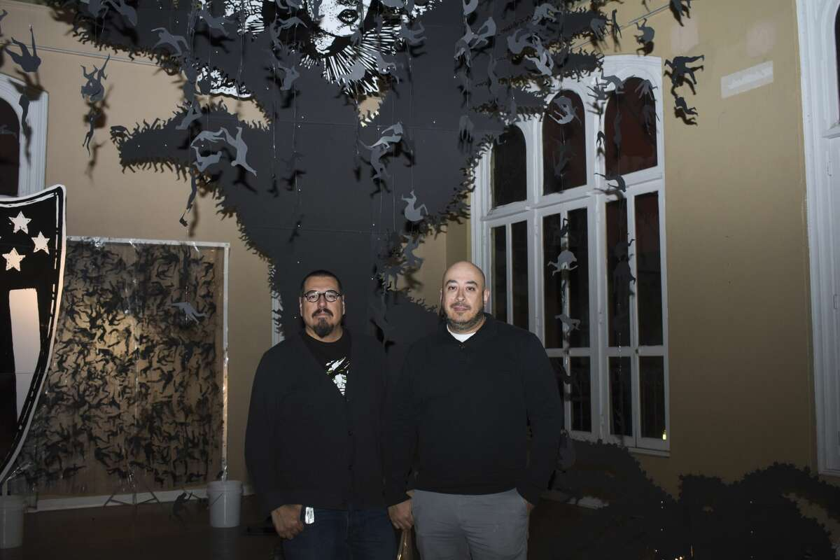 Creative minds gathered at the Laredo Center for the Arts for the Late 'Til 8 Art Show.