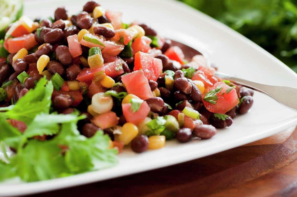 Black Bean and Tomato Salad