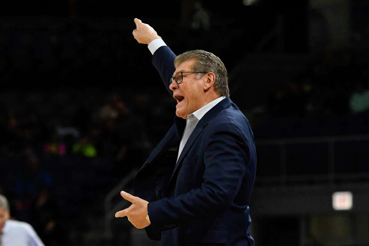 UConn coach Geno Auriemma will be back no the sideline on Thursday when the Huskies host Wichita State.