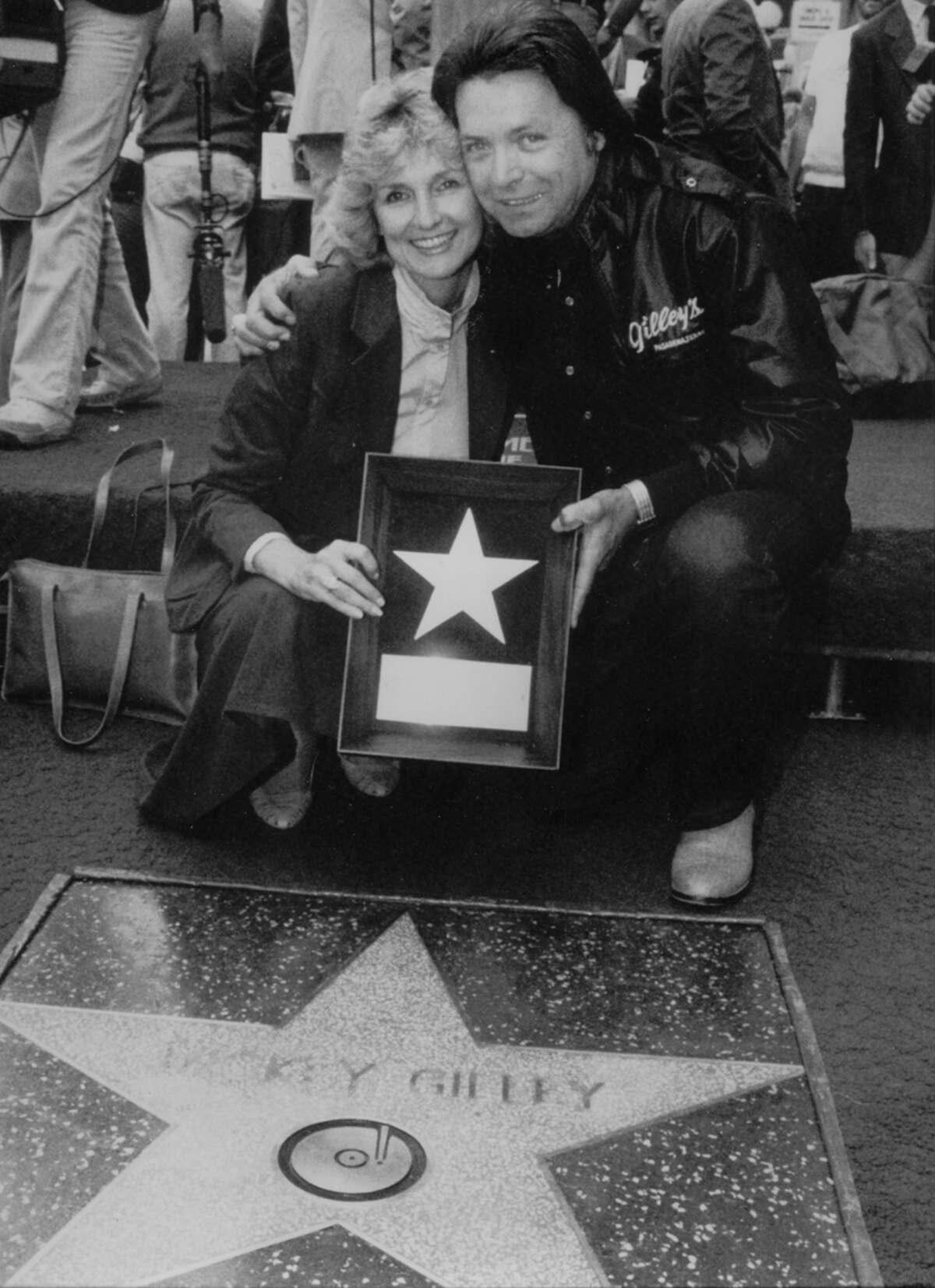 Vivian and Mickey Gilley