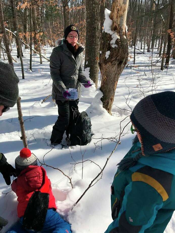The Sleeping Bear Dunes National Lakeshore will be hosting two different types of Saturday snowshoe hikes this winter season. (Courtesy Photo)