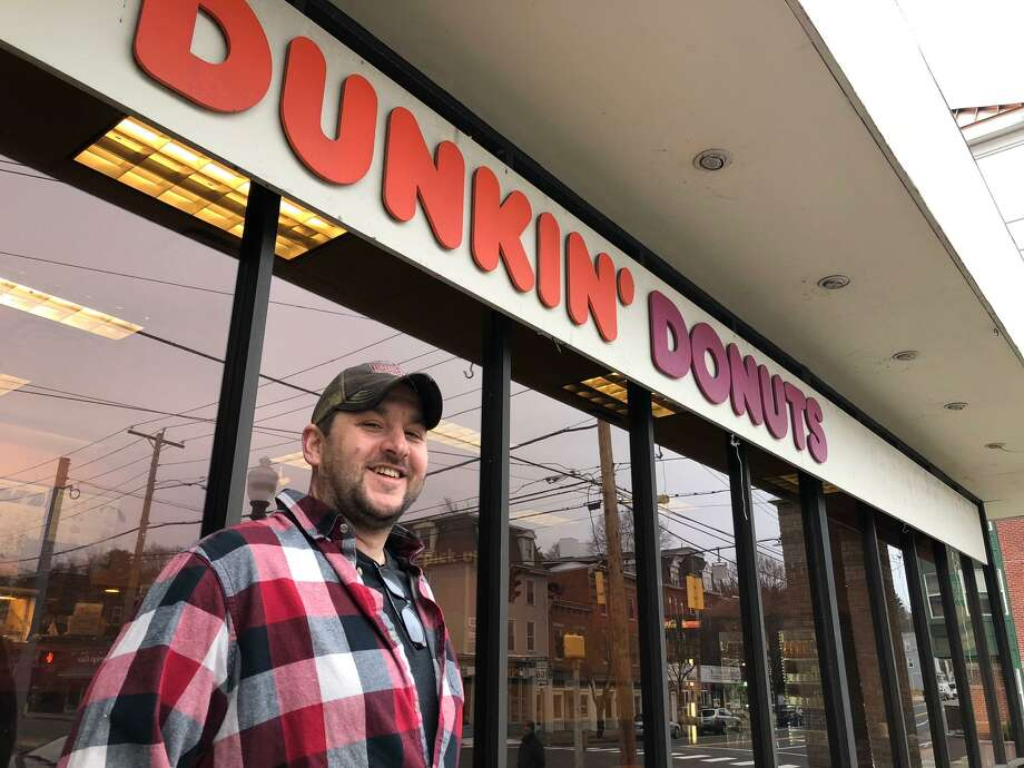 Mark Dymerski, owner of the Dunkin' Donuts franchise on Howe Avenue, will be closing his store on Dec. 29. Dymerski said his store will reopen in the new plaza along Canal Street in three months. Photo: Brian Gioiele / Hearst Connecticut Media / Connecticut Post