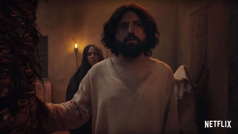 """A still from """"The First Temptation of Christ."""" Photo: Netflix / The Washington Post"""