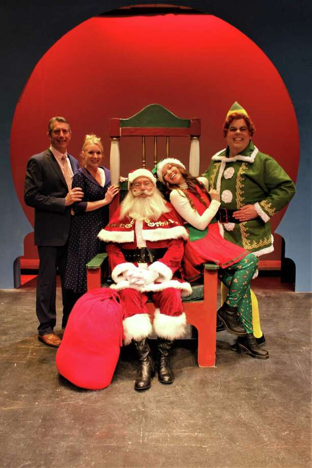 """Elf: The Musical"" at Seven Angels Theatre in Waterbury runs through Dec. 22. Photo: Seven Angels Theatre / Contributed Photo /"