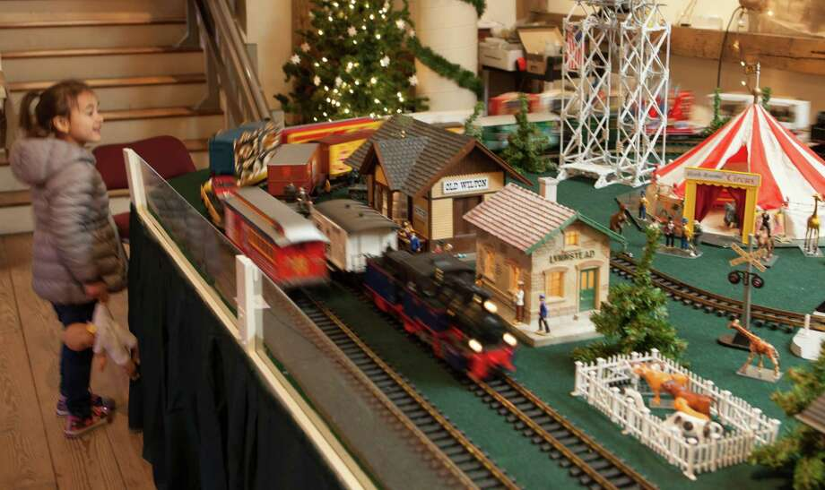 The Great Trains Holiday Show runs through Jan. 20 at the Wilton Historical Society, 224 Danbury Road, Wilton. For more information, visit wiltonhistorical.org. Photo: Wilton Historical Society / Contributed Photo / Connecticut Post Contributed