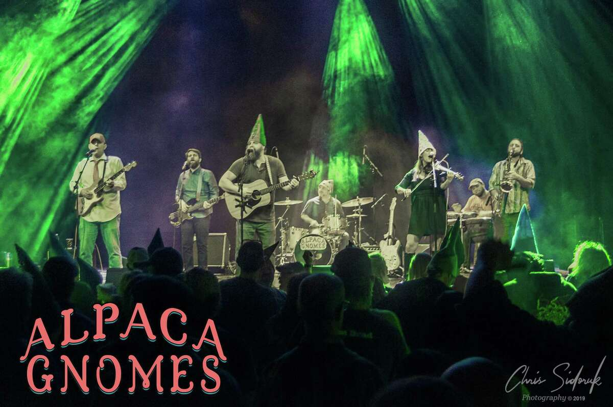 The Alpaca Gnomes will perform at the Wall Street Theater on Dec. 20.