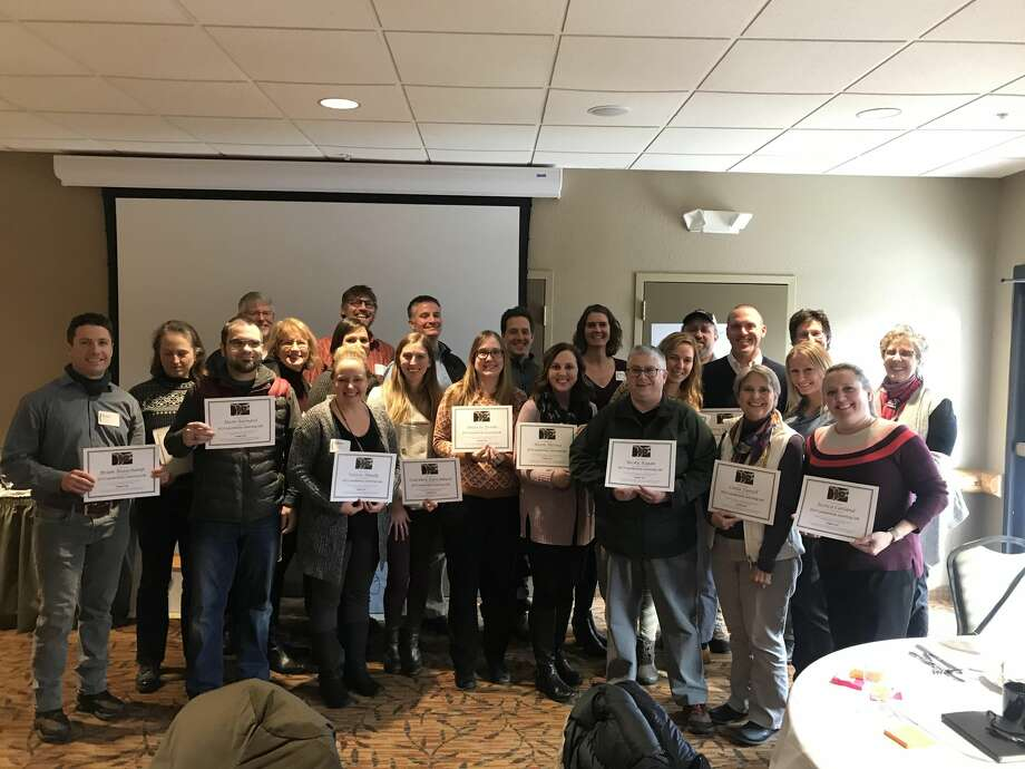 Around 30 leaders in business, nonprofit, and government participated in an eight-month Leadership Learning Lab hosted by Rotary Charities of Traverse City. Photo: (Courtesy Photo)
