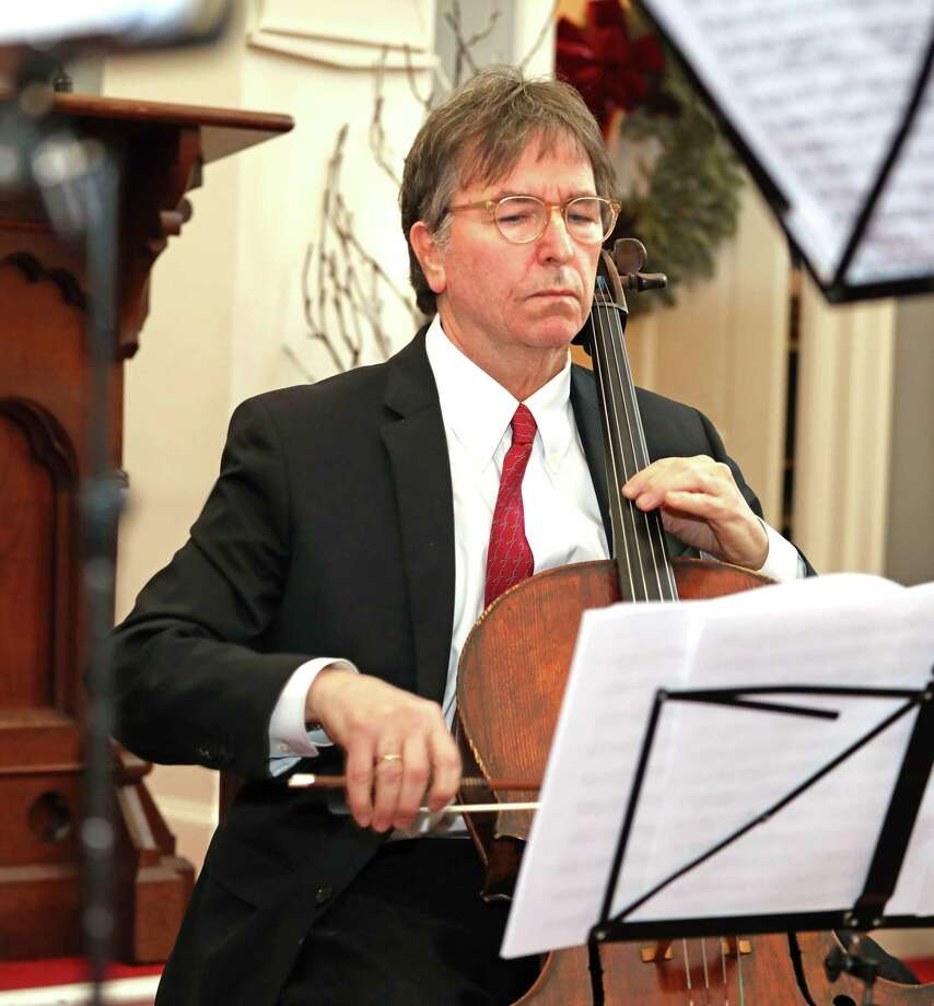 """Performers for the Sherman Chamber Ensemble """"Best of Baroque"""" concerts Jan. 4 and 5 are SCE Artistic Director and cellist Eliot Bailen, pictured, Susan Rotholz (flute), Gerard Reuter (oboe), Michael Roth (violin) and Raymond Erickson (piano). Photo: SCE / Contributed Photo"""