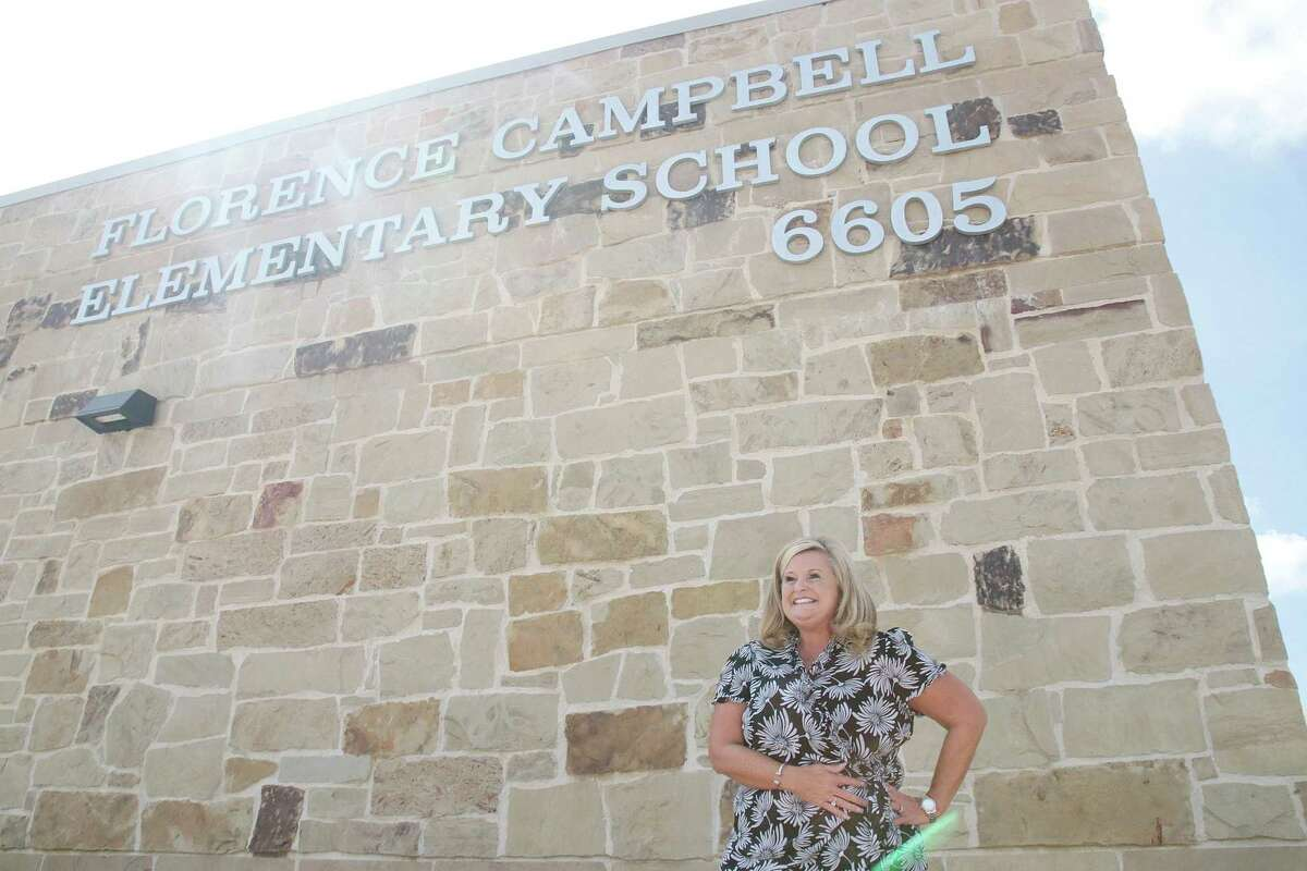 This school year, Clear Creek ISD opened Campbell Elementary School, which is led by Principal Erin Tite. The district also started projects at other campuses as it deals with rapid enrollment growth.