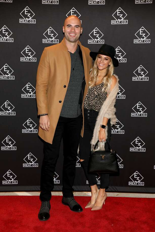 Jana Kramer and her husband Mike Caussin Photo: Danielle Del Valle/Getty Images For E3 Chophouse Na