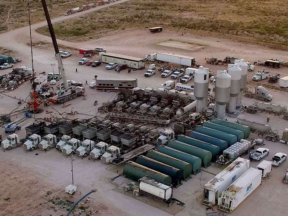 Pumpco Energy Services is a hydraulic fracturing company headquartered in Houston. Photo: Pumpco Energy Services