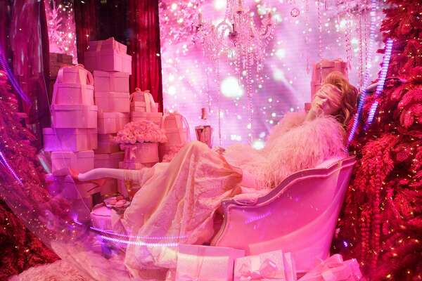 Saks Fifth Avenue holiday windows in New York City for 2018