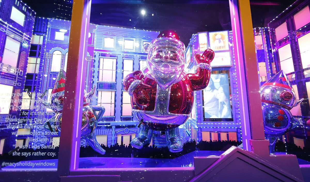 2019: Macy's NEW YORK, NEW YORK - NOVEMBER 21: Macy's unveils its Holiday Windows at Macy's Herald Square on November 21, 2019 in New York City. (Photo by John Lamparski/Getty Images)