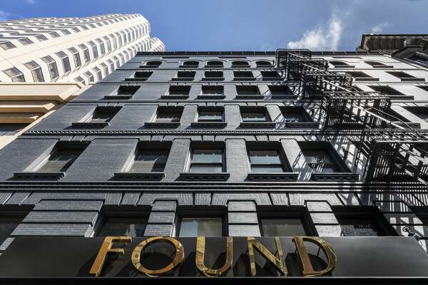Exterior of San Francisco's new Found Hotel