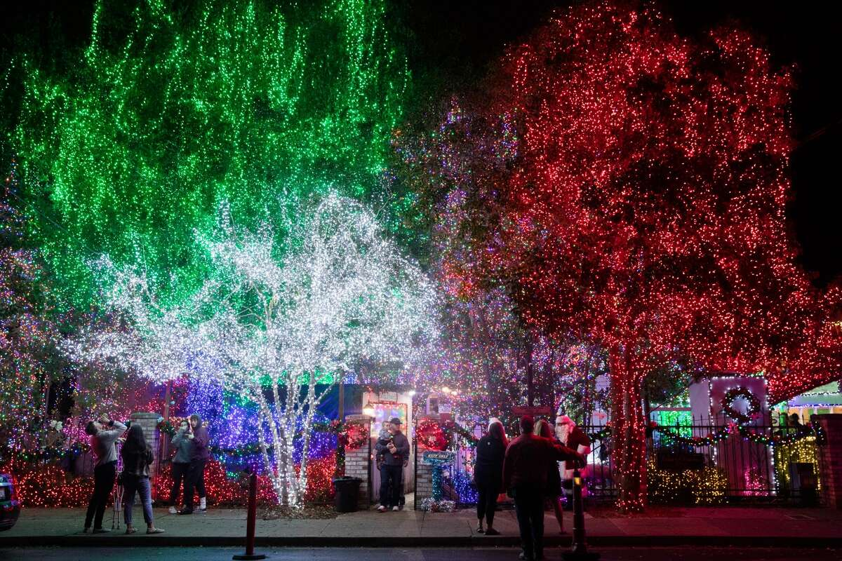 For the past 37 years, Deacon Dave has invited everyone to view his Christmas lights display in the front yard of his home in Livermore. It has grown to include over 640,000 lights, the most of any home display in the Bay Area