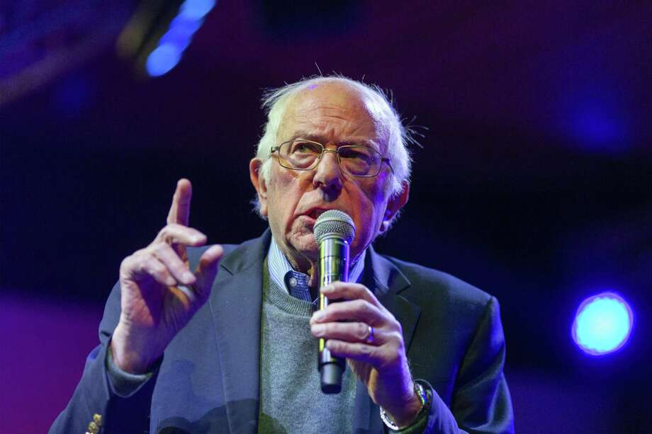 Sen. Bernie Sanders, I-Vt., who had relatives killed by Nazis during the Holocaust, responded Sunday to the latest incident of anti-Semitic terror. Photo: David McNew, Stringer / Getty Images / 2019 Getty Images