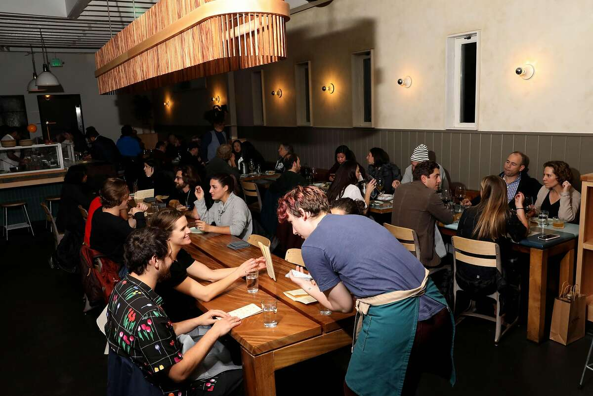 Folks dine at Dear Inga, located at 3560 18th St., in San Francisco, Calif., on Friday, December 6, 2019.