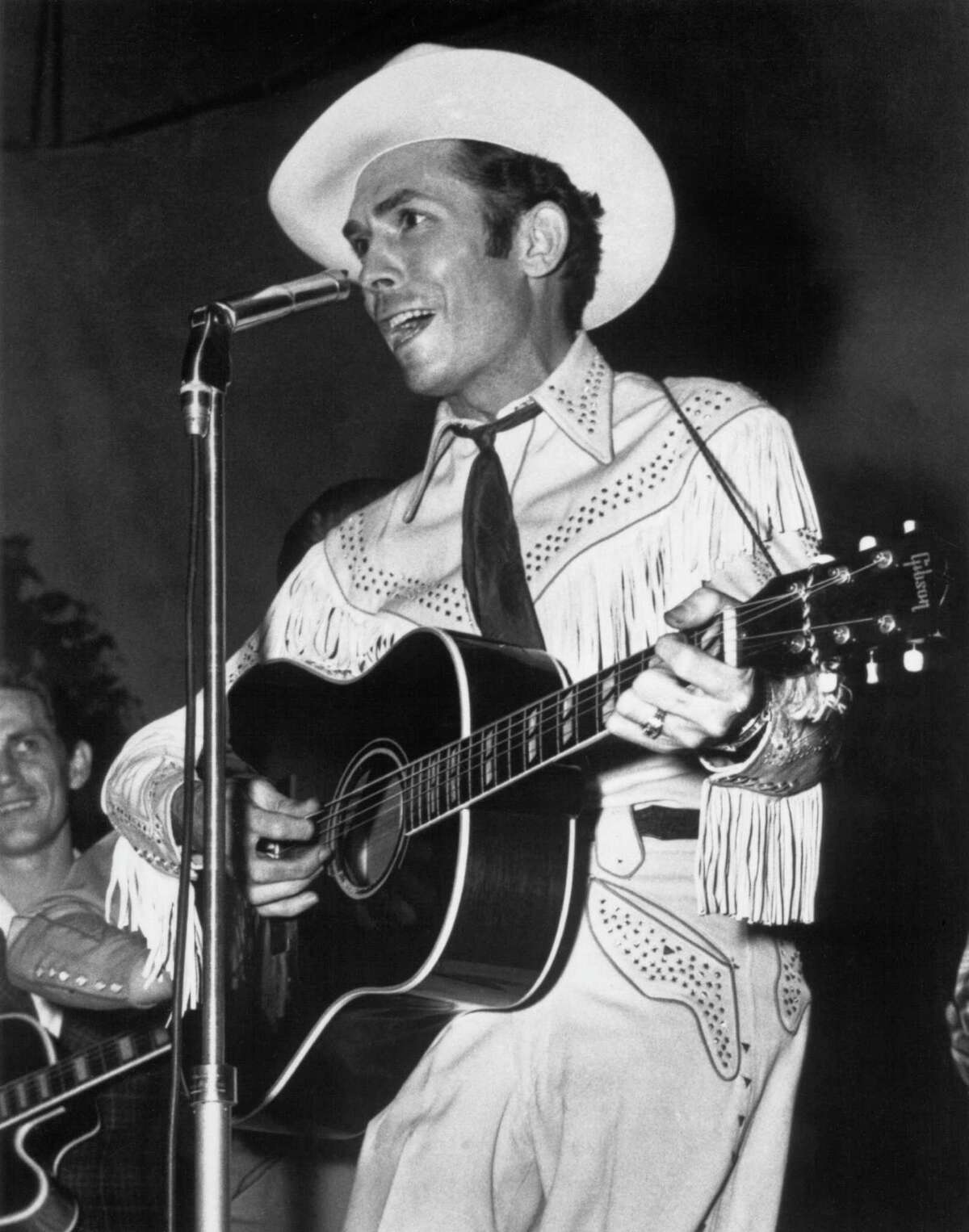 Hank Williams in September 1951 playing in Columbus, Ohio.