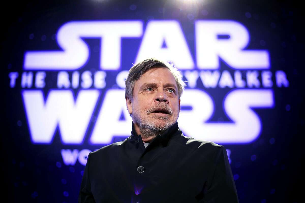 """Mark Hamill attends the Premiere of Disney's """"Star Wars: The Rise Of Skywalker"""" on December 16, 2019 in Hollywood, California."""