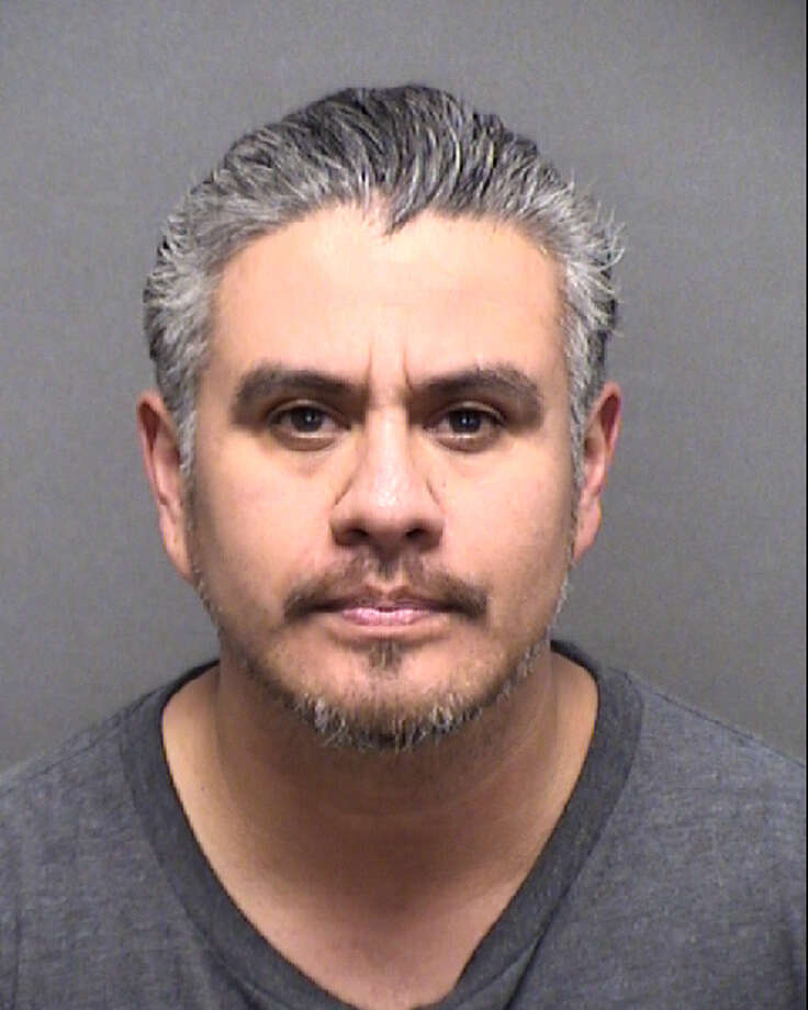Steve Gomez, 44, was arrested Monday morning for allegedly sexually assaulting a 5-year-old girl earlier this month. Photo: Bexar County Jail