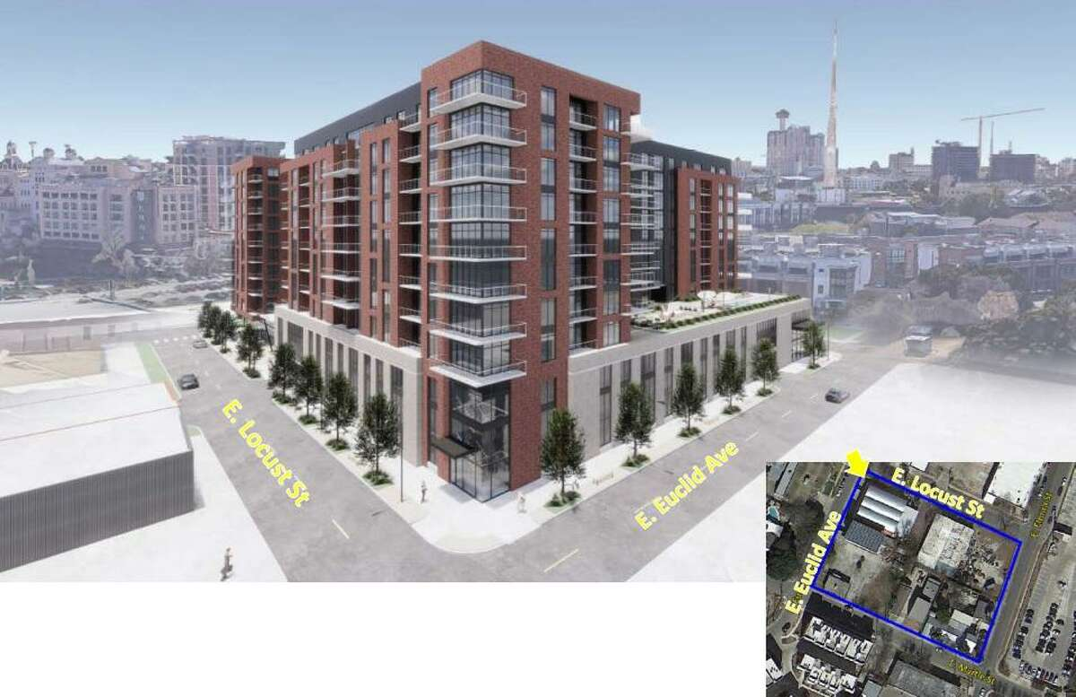 Sabot Development has proposed building a 10-story mixed-use development with 325 units near the Pearl.