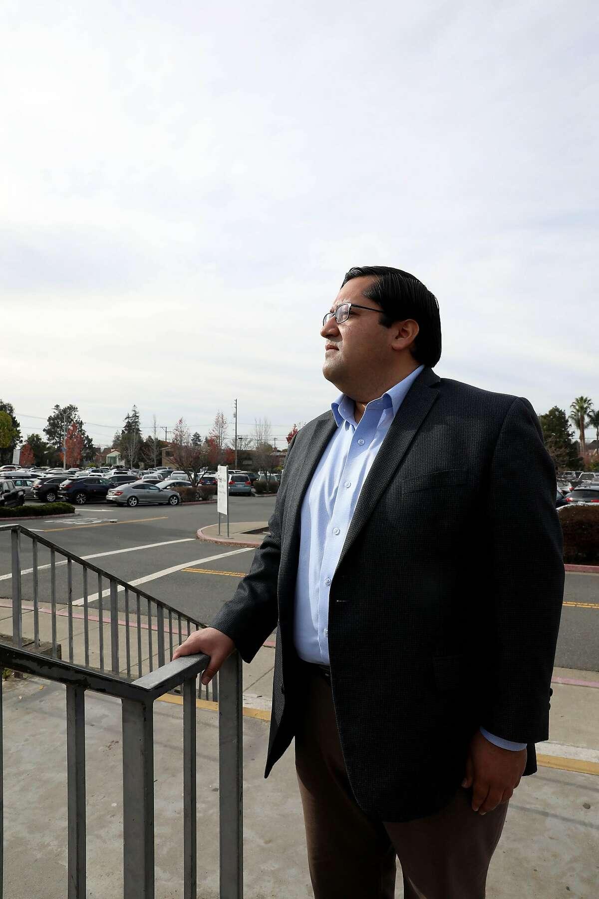 Mayor Jesse Arreguin poses for a portrait at the North Berkeley BART Station in North Berkeley, Calif., on Tuesday, December 17, 2019.