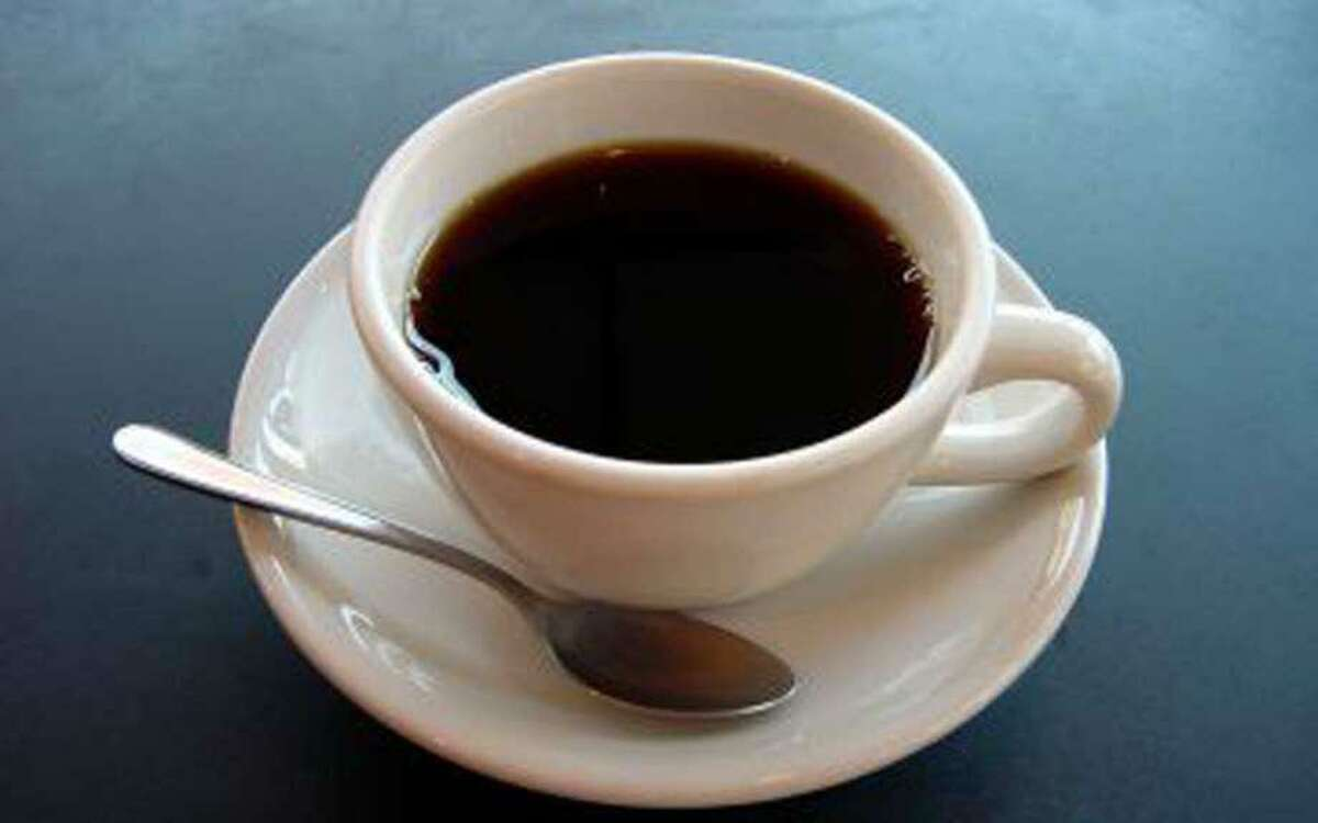 Wilton police officers host Coffee with a Cop Wednesday morning at Tusk & Cup.