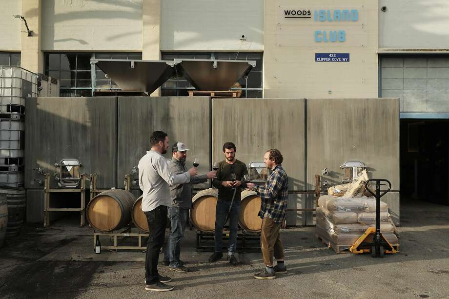 Woods is one of the local breweries that is now dabbling in winemaking. Photo: Carlos Avila Gonzalez / The Chronicle