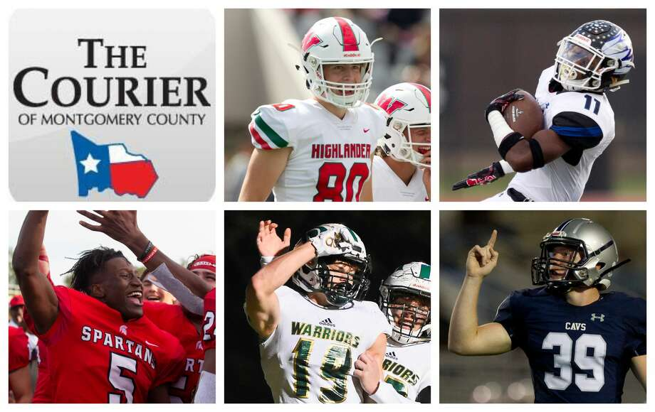 The Woodlands' Fabrizio Pinton, New Caney's C.J. Sanders, Porter's JoJo Guillory, TWCA's Caleb Chappelle and College Park's Andrew Lutz are The Courier's nominees for Special Teams MVP. Photo: Staff Photos