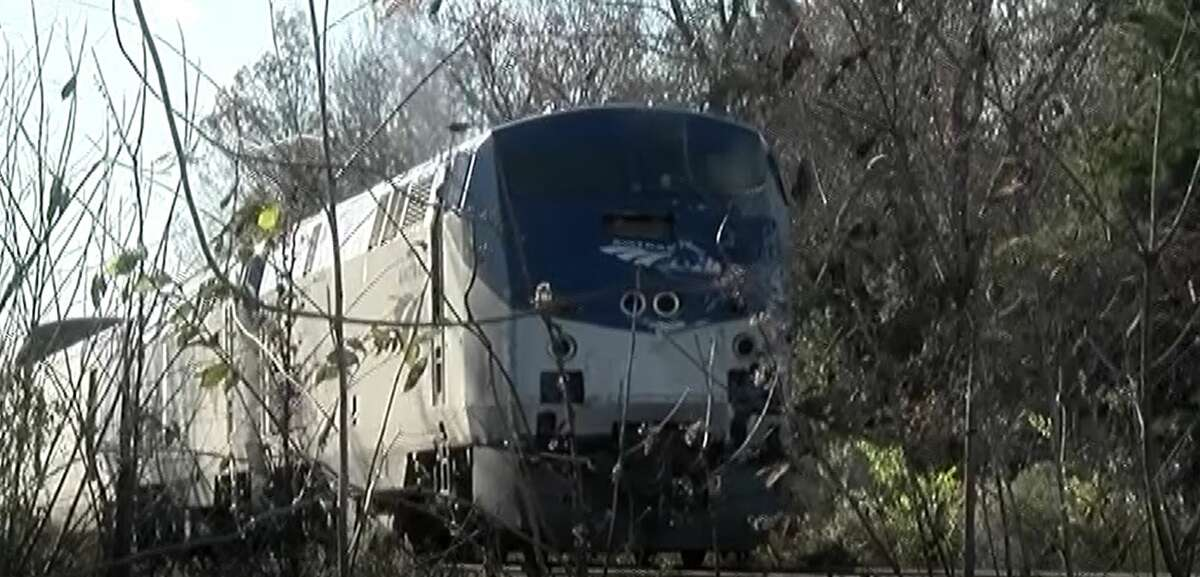 Investigation underway in a collision involving a cement mixer and an Amtrak train in Dayton in Liberty County, Dec. 17, 2019.