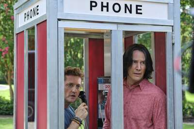 """Alex Winter and Keanu Reeves star in """"Bill & Ted Face the Music."""""""